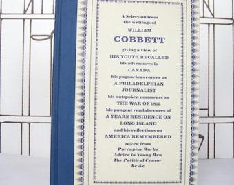 Cobbett's America by William Cobbett (Vintage, Folio, History)
