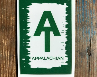 Appalachian Trail Decal Sticker, Bumper Sticker, AT Hiker