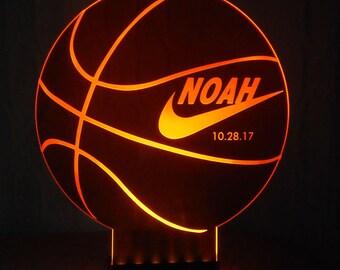 SPORT Illuminated Centerpiece  - Bar / Bat Mitzvah Centerpiece - Logo Centerpiece - Corporate Centerpiece