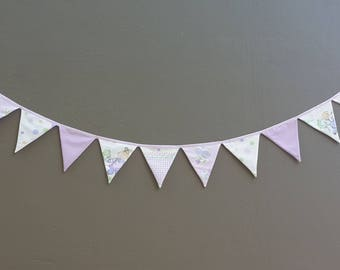Bunting Flags - Purple