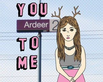 Melbourne Card - You Ardeer To Me