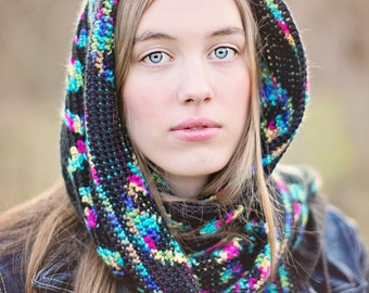 Instant Download, Aurora Scarf Crochet PATTERN