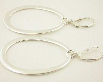 Sterling Silver Lever Back Earrings 33
