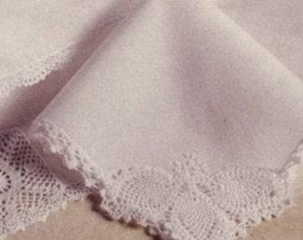 Mid-Century Antique Bridal Hankies - Keepsakes for the Family - Wedding Gift Ideas - bff gift ideas.