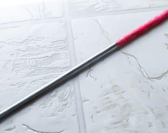 Wooden Wand - Pink Wand - Magic Wand - Fairy Wand - Faerie Wand - Potter Wand - Halloween Wand - Costume Wand - Wozard Wand