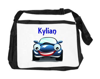 Car bag personalized with name