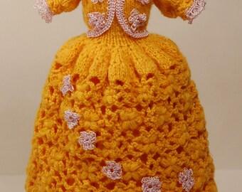 Barbie dress handmade PDF Patterns, Barbie dresses, Barbie doll clothes, Barbie kleid hakeln, crochet, knit, Barbie clothes  Crochet Pattern