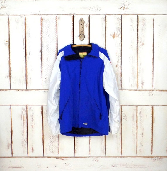 nylon vintage snow nylon NFA blue ski striped Vintage jacket wear snowboard white jacket ski winter 1UPwqSt