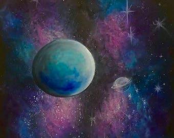 Galaxy Dream Art Print
