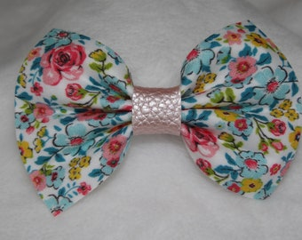 Floral Riley Bow