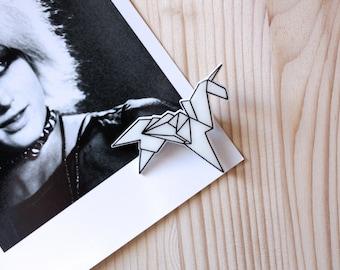 Brooch Blade Runner Origami Unicorn Shrink Plastic