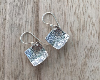 Concave Square Earrings