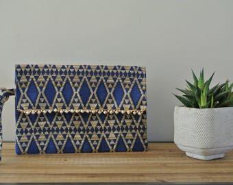 Blue Pocket pattern