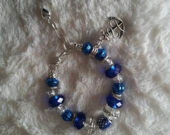 Charm bracelet beach nautical ocean