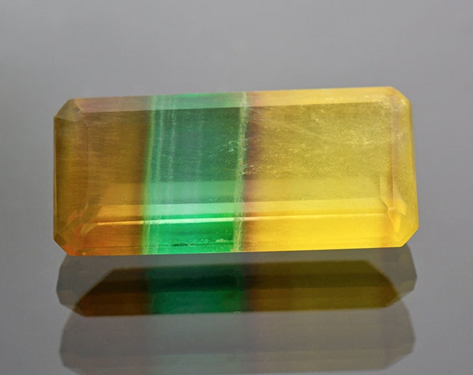 Large Unique Argentinian Banded Fluorite Gemstone 22.24 cts.