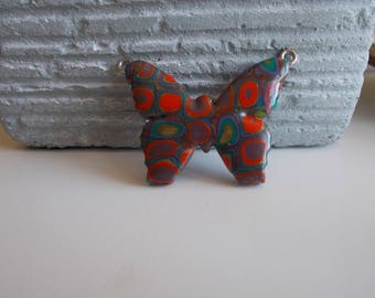 for creating polymer clay Butterfly pendant