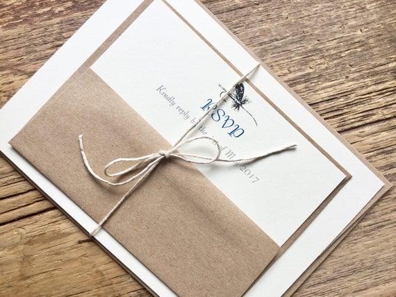 Camouflage Wedding Invitation Kits: Fishing Wedding Invitations Fly Fishing Invites Camo