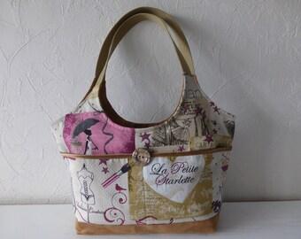 Bag, fabric, jacquard, suede, retro, romantic, trendy, fashion