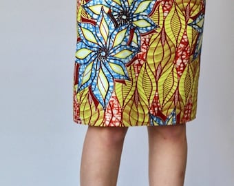 Yellow African Skirt