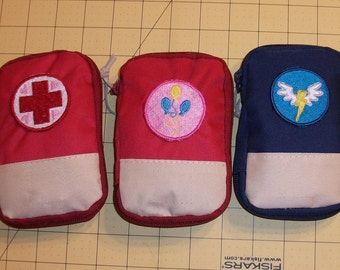 70+ piece My Little Pony Cutie Mark Compact First-Aid Kit