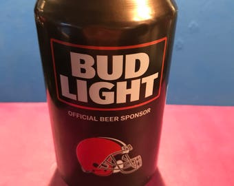 Cleveland Browns NFL 2017 Bud Light Beer Can Candle