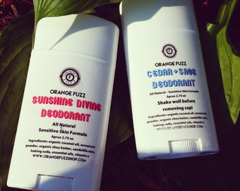 All Natural Solid Deodorant