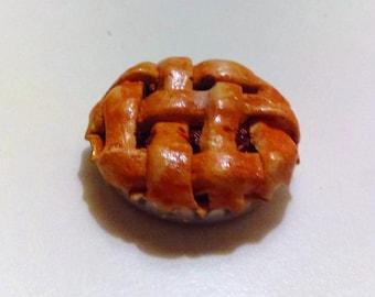 Dollhouse Miniature 1/6 Scale Cherry Pie