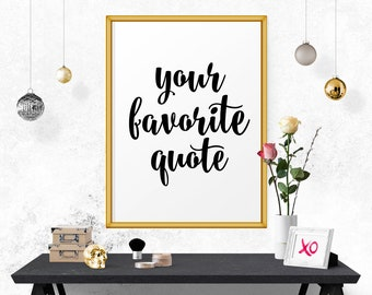 Custom Quote Print, Quote Prints, Wall Signs, Custom Quote Quote Print Custom Wall Sign, Custom Prints And Posters, Custom Prints With Text
