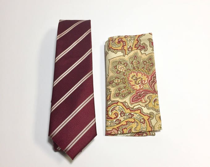 "The ""Insecurity Attack"" Tie and Square Pack"