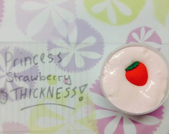 Princess Strawberry Thickness - 4 Ounce Slime