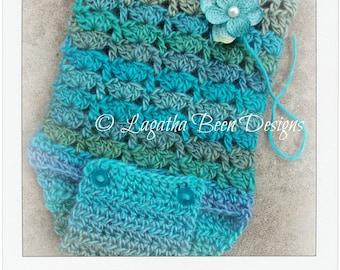 Crochet easy shell romper II pattern - PDF65 digital download