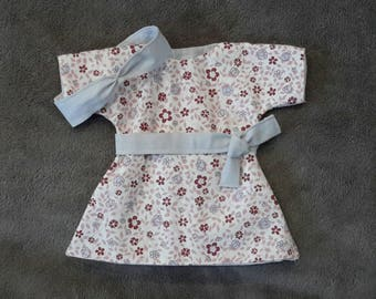 Entire dress & headband for baby 30 cm - doll clothing