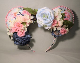 Flower and Garden Minnie Mouse Ears
