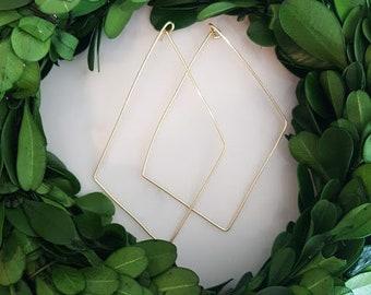 Geometric Wire Earrings