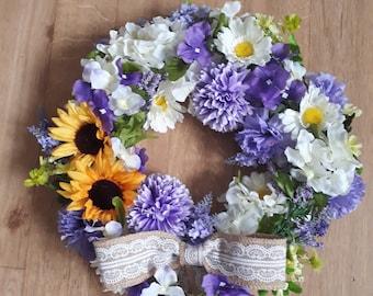 Country style wreath/ door hanger/ wall decoration