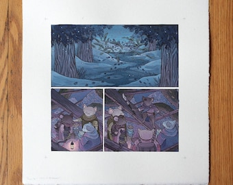 Page 6 - Original Painting - Mouse Guard: Legends vol 3, Guest Artist Nicole Gustafsson