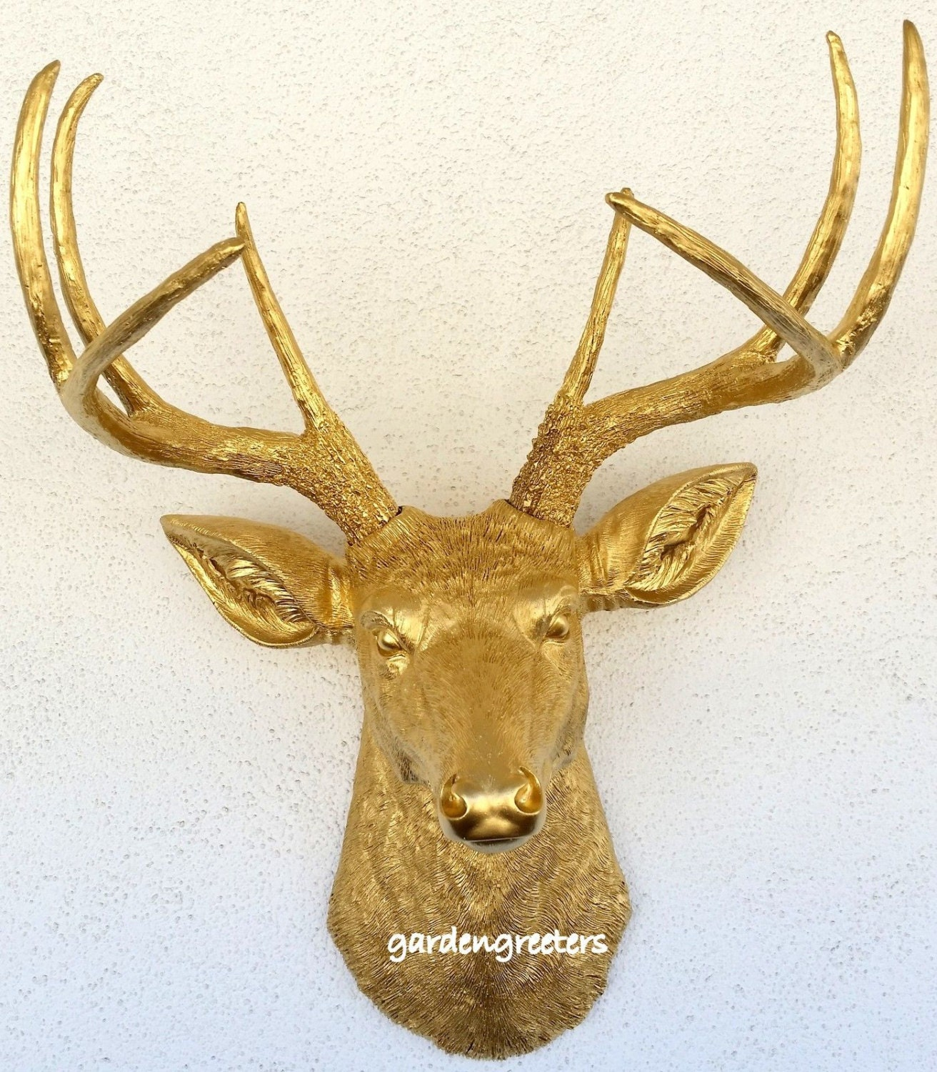 Fine Decorative Stag Head Wall Vignette - The Wall Art Decorations ...