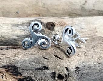Triskelion Earrings TRK061