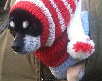 Dog Hat, Winter, Very Comfortable, Knitting Pattern, PDF, XS-M