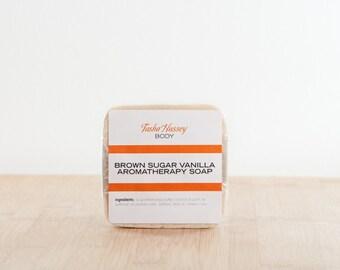 Brown Sugar Vanilla Soap, Vanilla Soap, Oatmeal Soap, Shea butter soap, All Natural Soap, Bar Soap