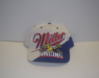 Vintage Miller Light Nascar Rusty Wallace Snapback