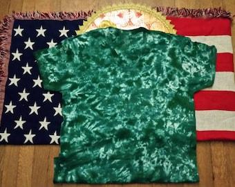 Tye Dye Shirt K. Green Dreams
