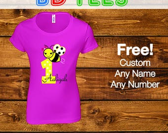 Sale! First Birthday Shirt, Baby Girls First Birthday Shirt, 1st Birthday Girl Clothes Outfi