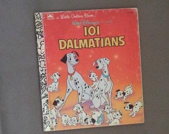 Little golden book ,Walt disney's book, Children's story book ,101 Dalmatians, 1991 vintage story book