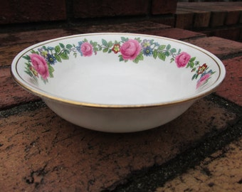 Cereal Bowl - Aynsley - English China - Breakfast Set - Vintage