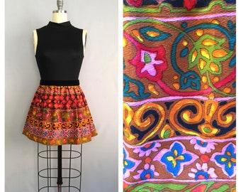 Jeannie dress | 1960s floral mini dress | 60s mod party dress | s