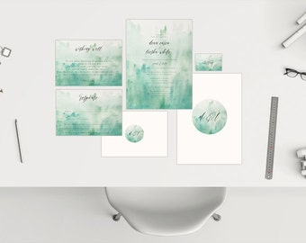 Wedding Package // Watercolour 04