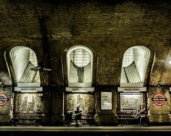 London photography, London street photography, London prints, fine art photography, London photos, Wall art, Home decor, underground station