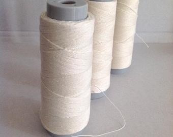 LINEN BINDING THREAD 100% linen ~ perfect for doll making