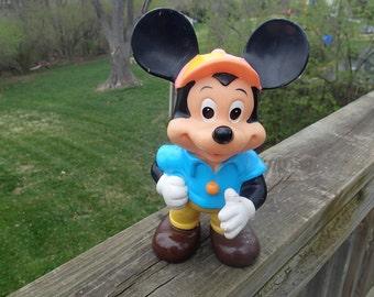 Sale Vintage Walt Disney Productions Mickey Mouse Squeak toy